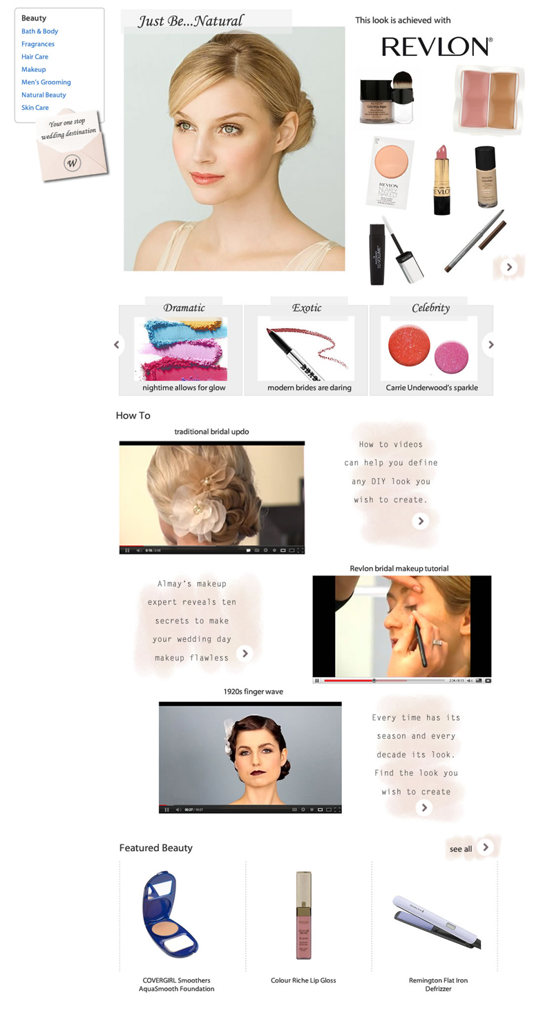 Beauty Main Page