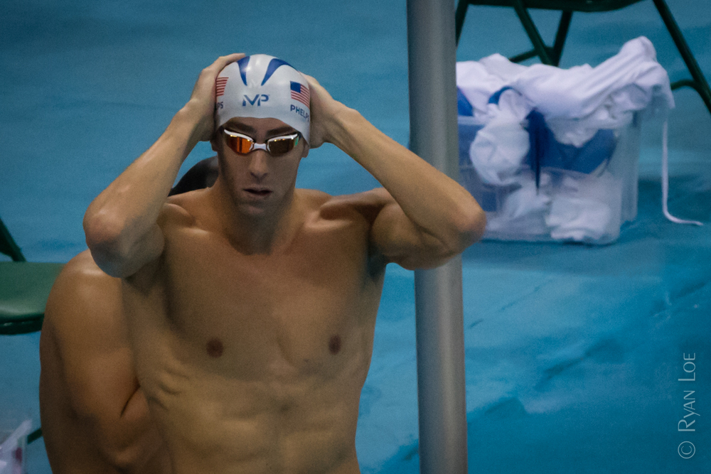 Michael Phelps Prepping