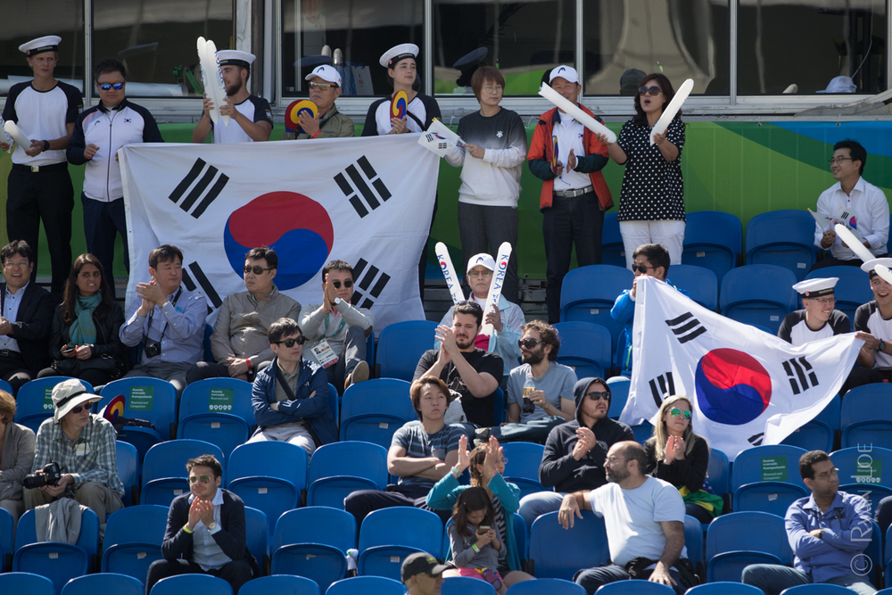 Korean Spectators