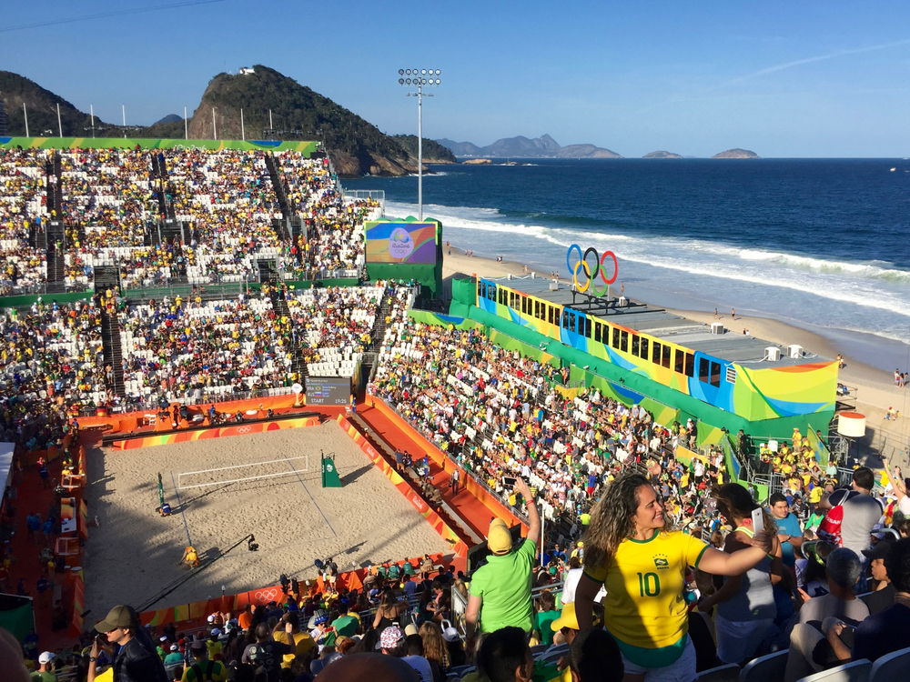 Copacabana Beach Volleyball Arena