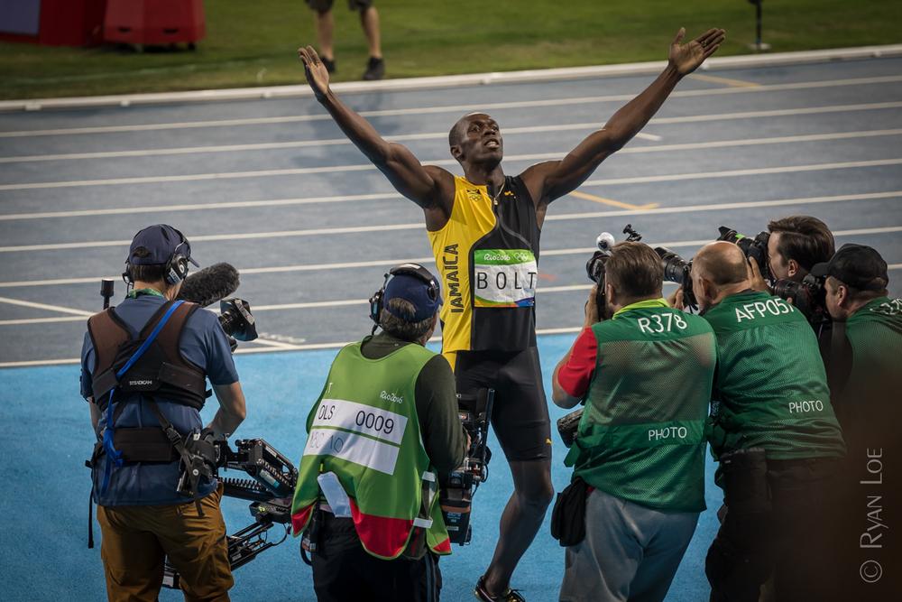 Usain Bolt - Gold Medalist