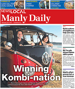 Manly Daily July 2013
