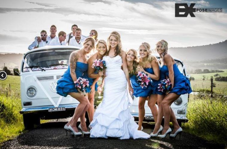 Kombi Occasions service the South Coast of New South Wales and are proud to offer you quality vehicles for your wedding day