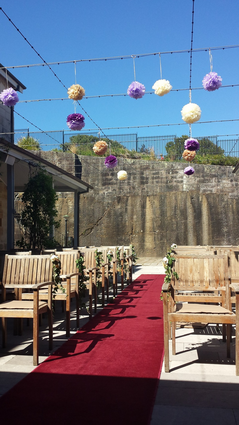 The Sandstone Courtyard where you can be married