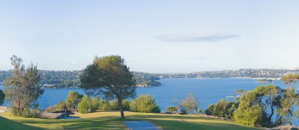You can book George's Heights Lookout through Sydney Harbour Trust
