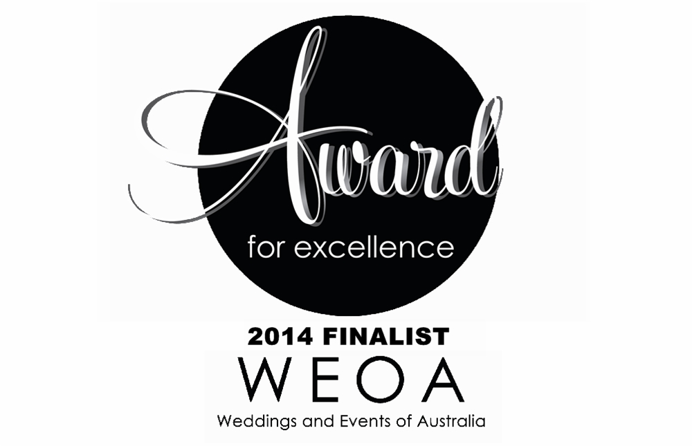 top four finalists at the weoa wedding industry awards