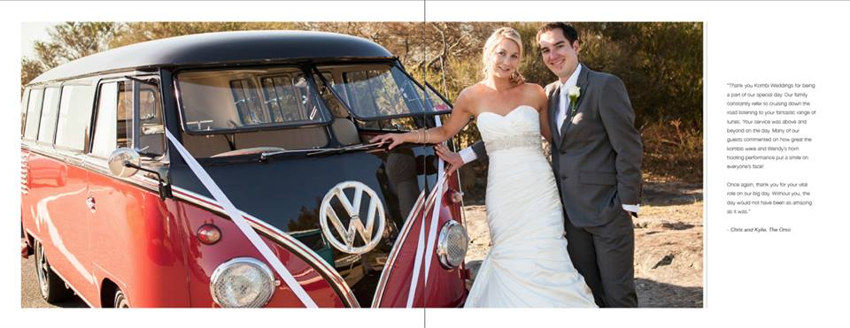 kombi weddings sydney