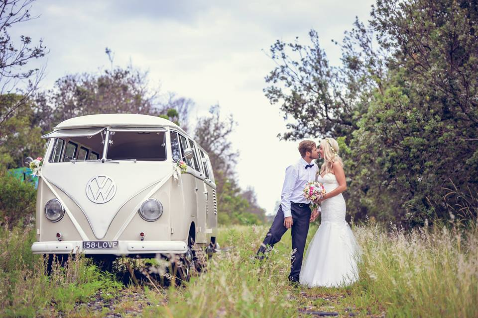 COAST 58 WEDDINGS ARE A LOCALLY BASED BYRON BAY KOMBI WEDDING HIRE BUSINESS