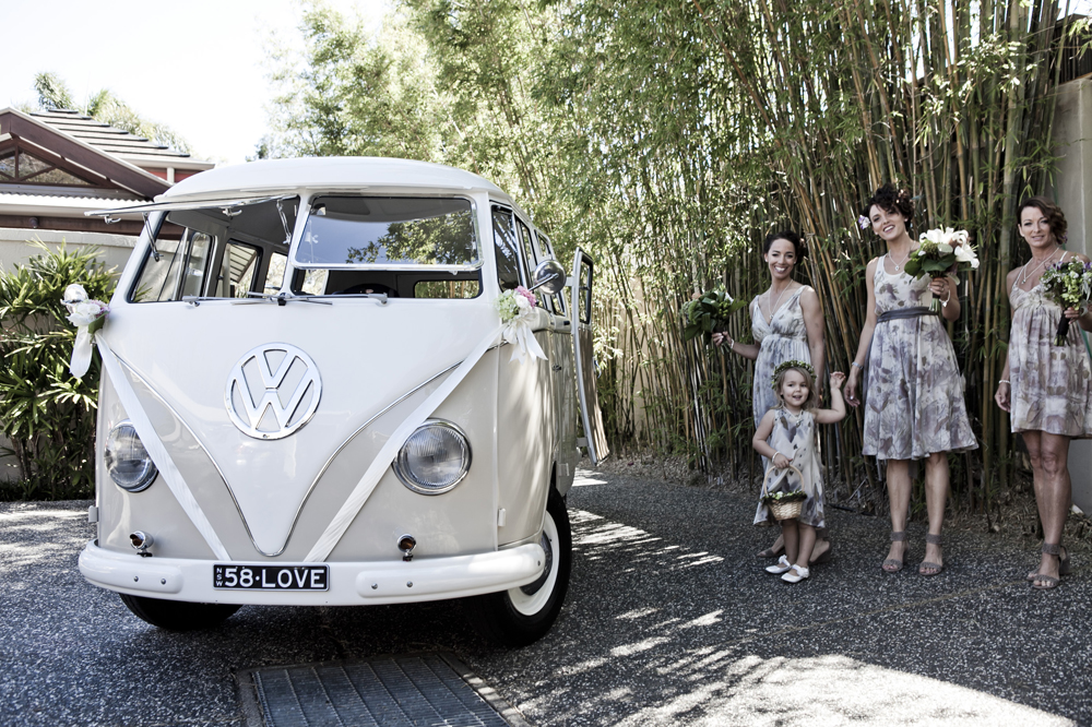 kombi wedding hire Byron Bay