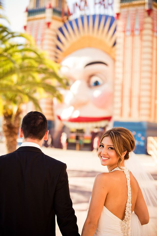 luna park wedding
