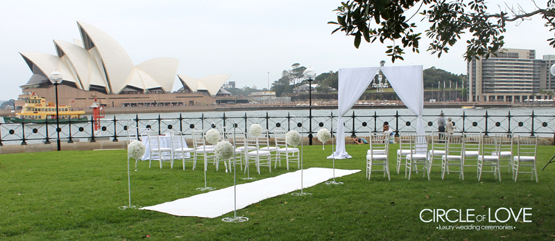 'Circle of Love Weddings' at Sydney Harbour -