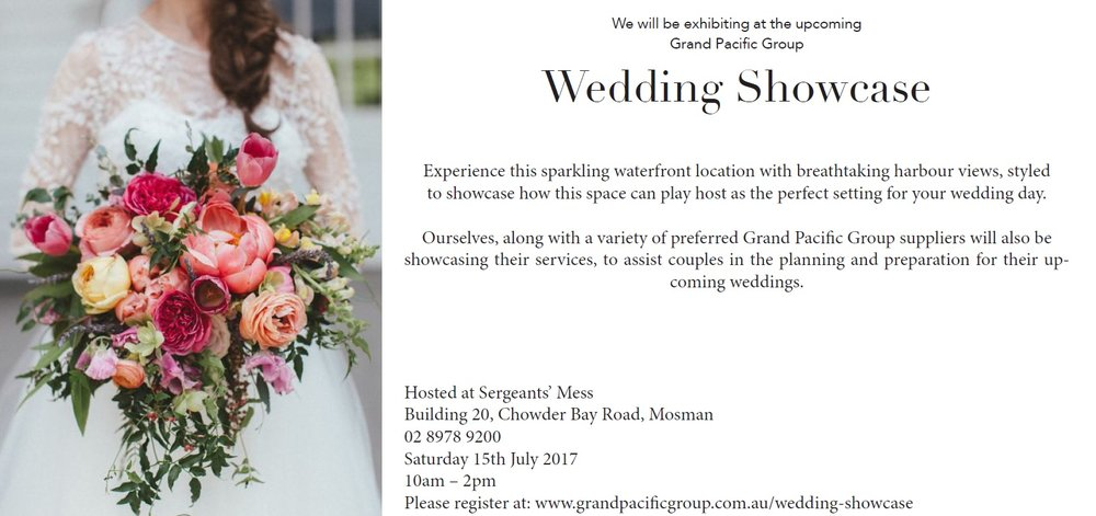 SERGEANT'S MESS WEDDING SHOWCASE 15 JULY 2017
