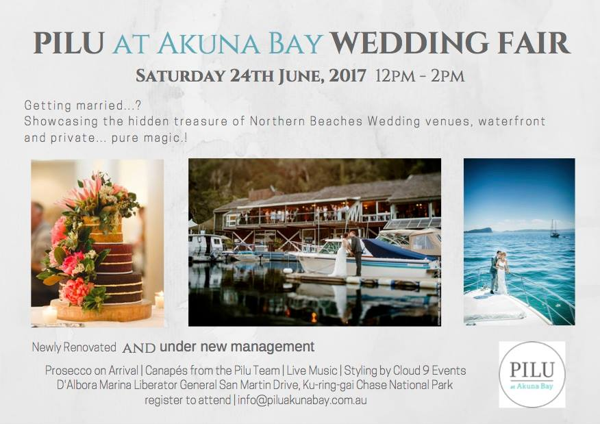 PILU AKUNA BAY WEDDING FAIR