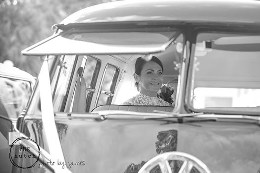 Melinda looking very calm & serene, moments before her ceremonyPhotographed by James Billing for The Hutch Wedding & Events -