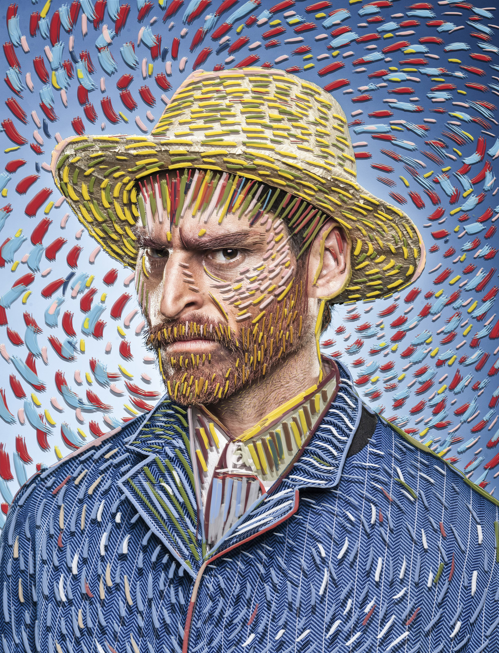 Post Imprsio-Pixel Soul Portrait by Moses Pini Siluk..jpg