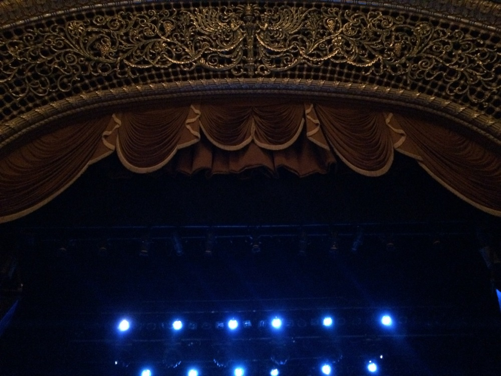 The  Pabst Theater  in Milwaukee Wisconsin is one of my all-time favorite venues. The acoustics are phenomenal.