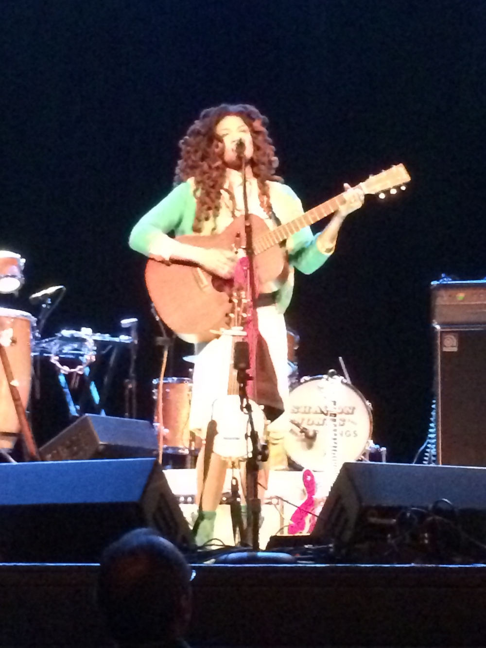 Valerie June starts the evening