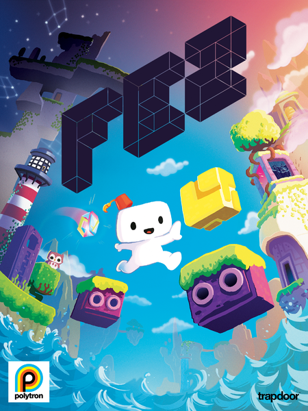 Fez cover art, designed by Bryan Lee O'Malley