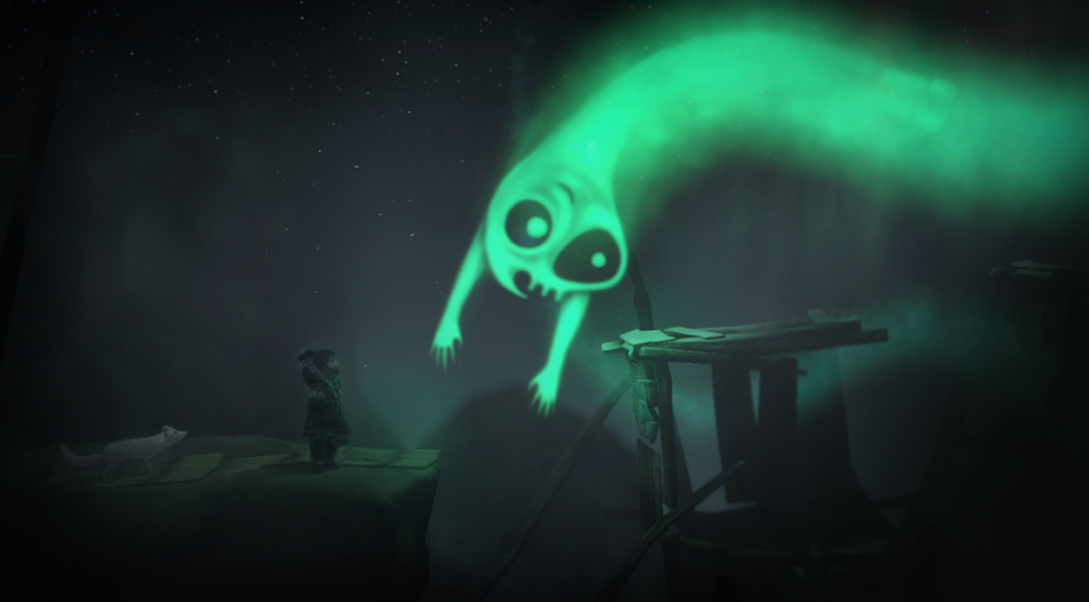 Watch out for the Northern Lights, not all spirits are friendly!