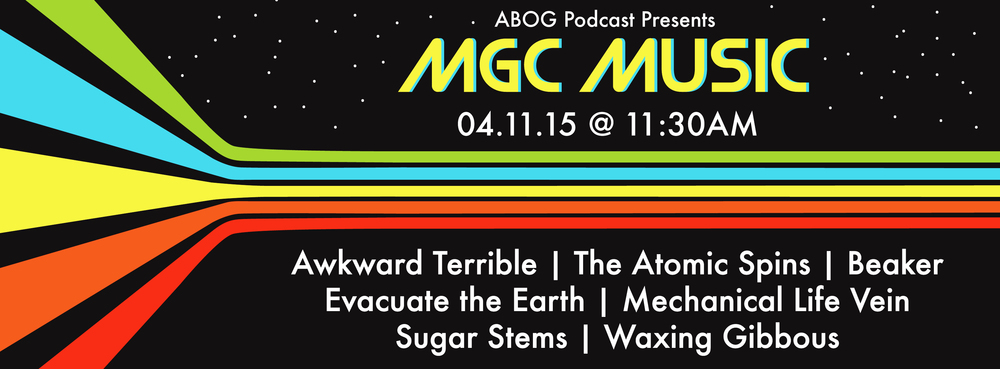 """MGC Music"" Facebook Event Page"