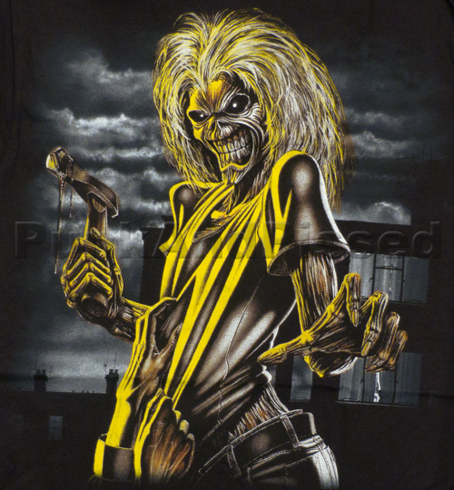 Eddie - Iron Maiden's iconic mascot