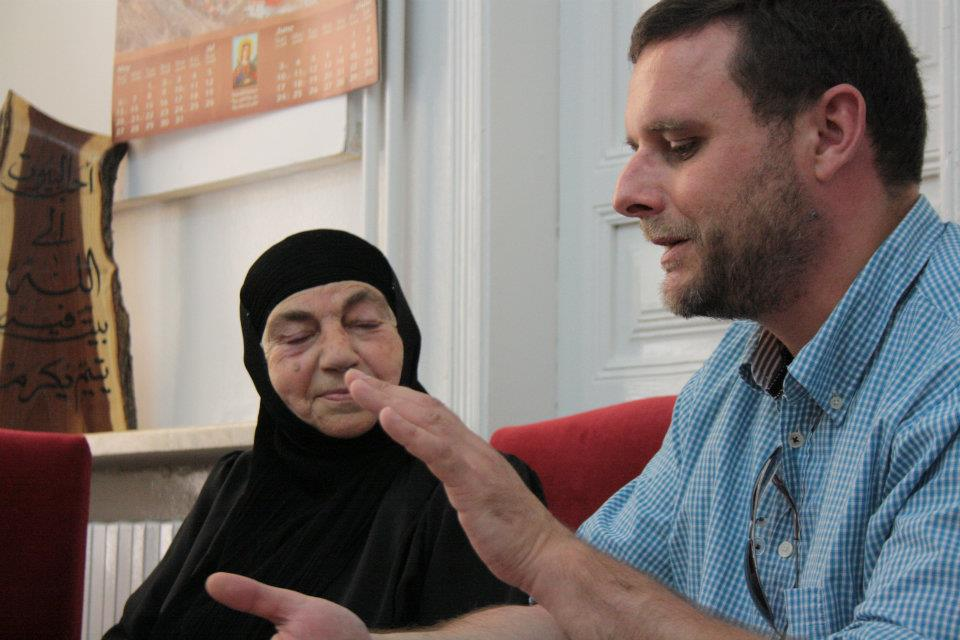 interview with a Greek Orthodox nun in Maalula, Syria in 2012