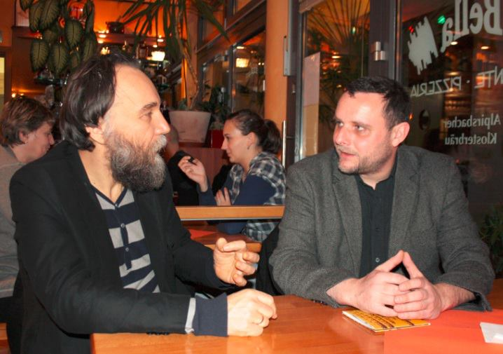 Discussion with Prof. Alexandr Dugin in Germany in 2013