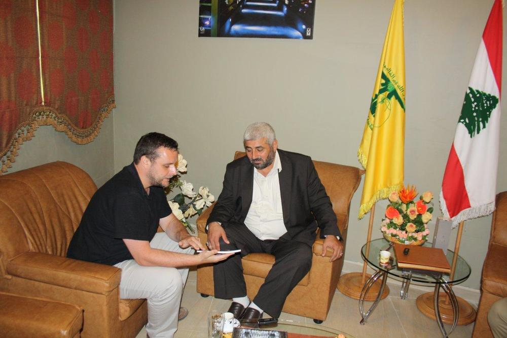 Interview with a Hezbollah official in Lebanon in 2011