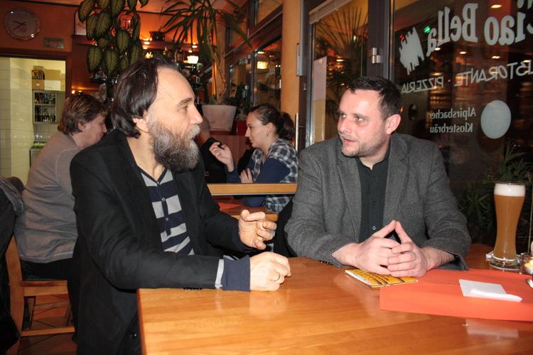Prof. Alexandr Dugin and Manuel Ochsenreiter