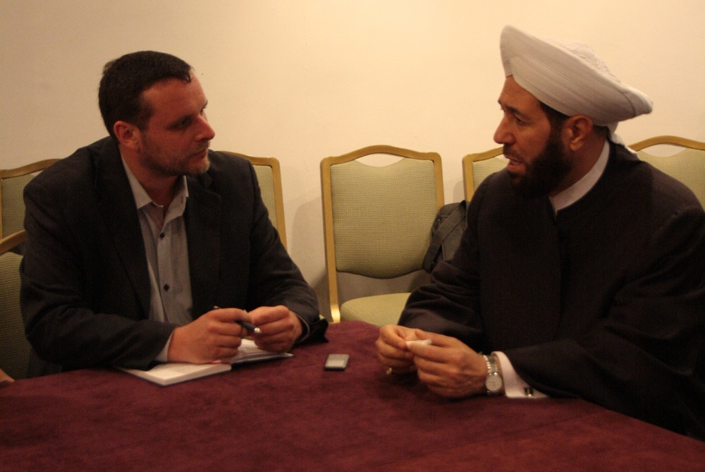 Interview with Sheikh Hassun in Damascus, Summer 2013