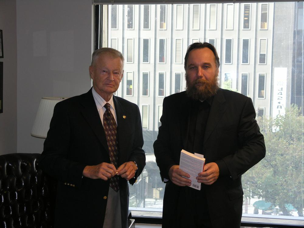 Zbigniew Brzezinski and Alexander Dugin