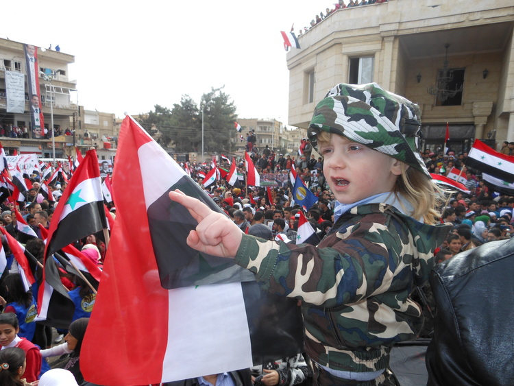 Celebration in Al-Nabk: Liberation of the city