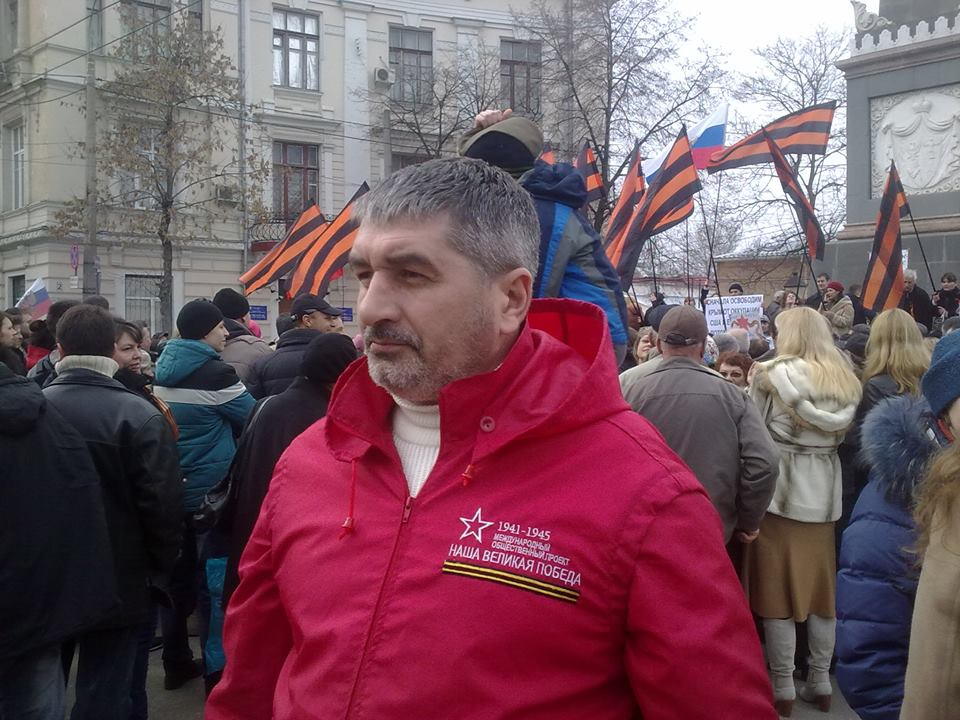 """Gennady Sivak, the head of the""""Social Patriotic Assembly of the Slavs"""""""