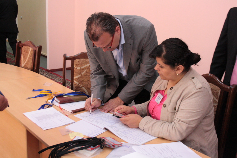 Registration in Stepanakert