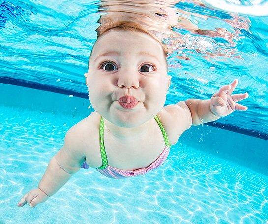 'Underwater Babies' Series Is Too Adorable