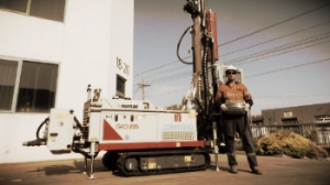 The COMACCHIO GEO 205 is ideal for a range of limited access drilling applications.