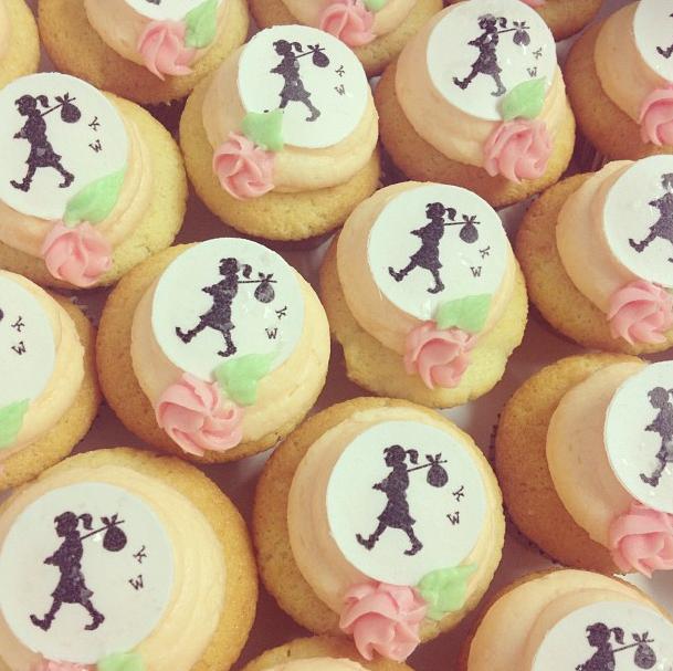 Karen Walker Cupcakes #bluebellscakery