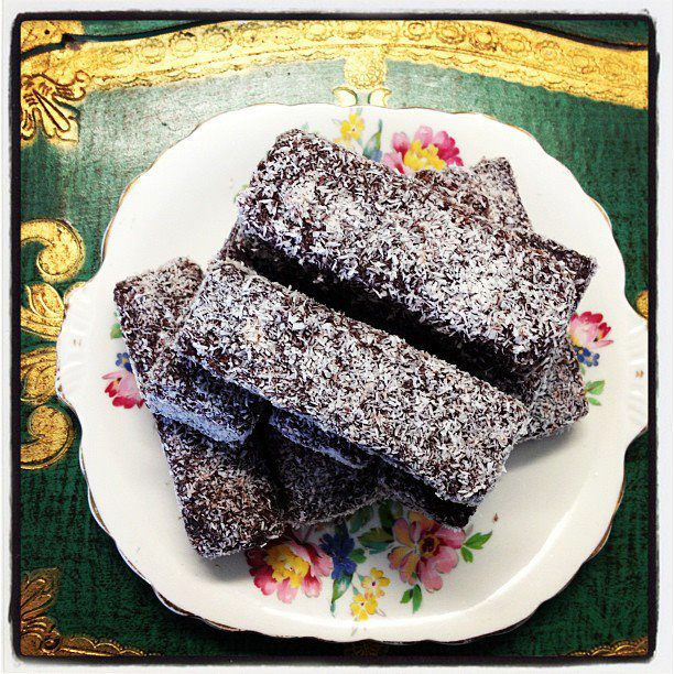 Lamington Fingers #bluebellscakery