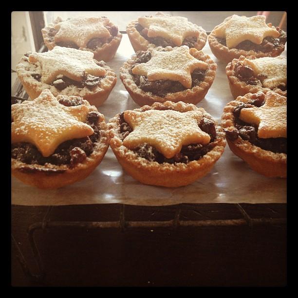 Christmas Mince Tarts #bluebellscakery