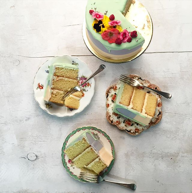 Cake for dinner 😊