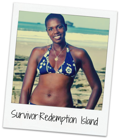 Press photo from my first season of the CBS reality television show,  Survivor: Redemption Island .