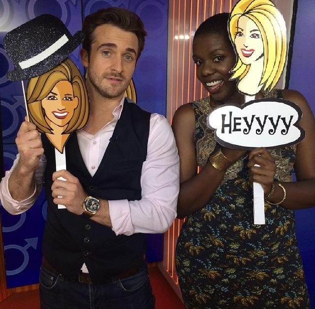 Francesca Hogi Matthew Hussey Today Show