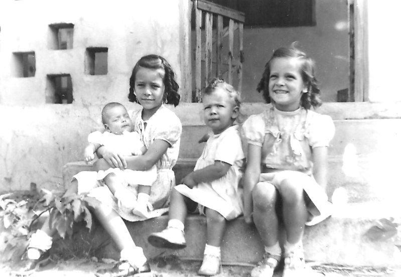 Marilyn, Peggy Ann, Lois, Nancy.
