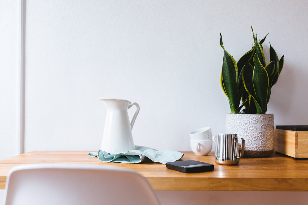 Good conversation. As natural as this totally-not-staged picturesque morning coffee service. [Death to Stock Photo]
