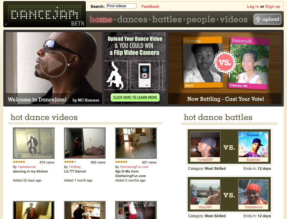 DanceJam screenshot