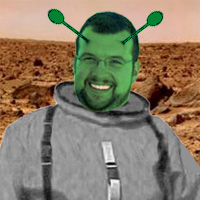 Man on Mars