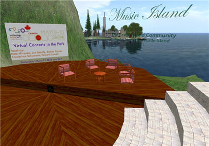 This week\'s Technology in the Arts - Canada will feature a virtual panel in Second Life on Saturday morning.