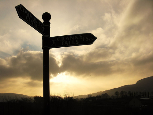 """Signpost"" by JMC"