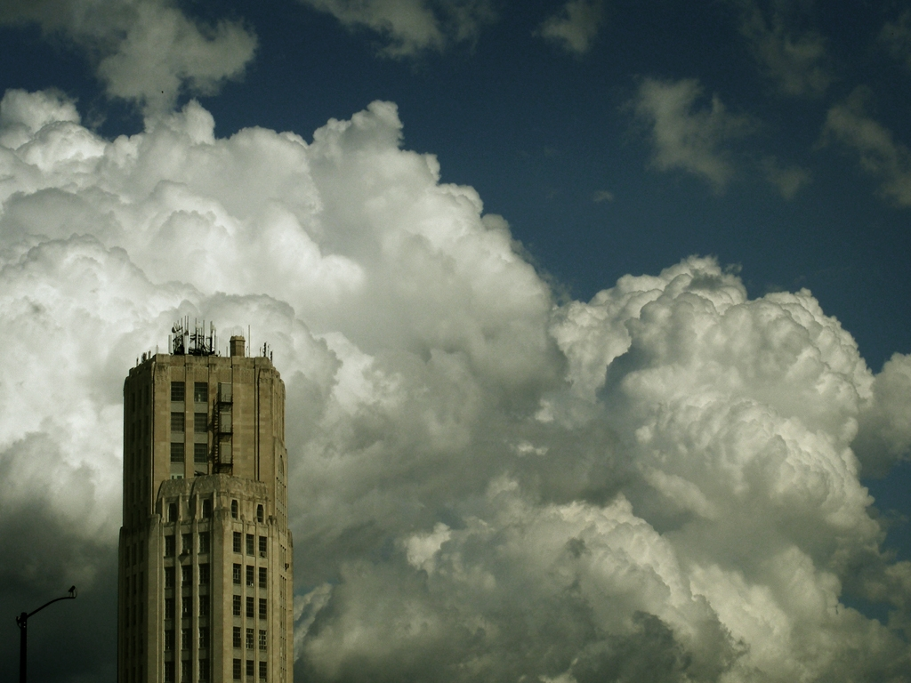 """Towering Clouds"" by James Jordan"