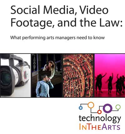 Social Media, Video Footage and the Law report from Technology in the Arts